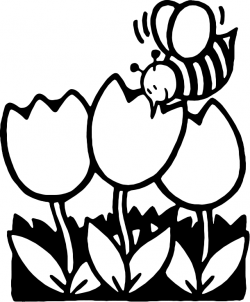 Nectar clipart black and white