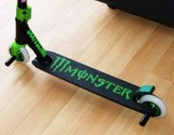 Monster Energy clipart stunt scooter