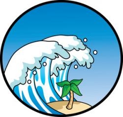 Monster Waves clipart