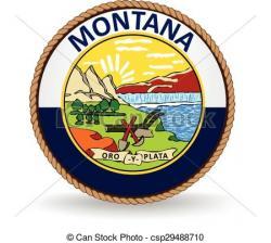 Montana clipart Montana State Clipart