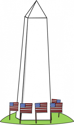 Washington clipart Washington Monument Clipart