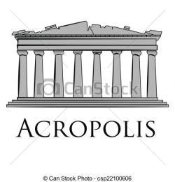 Monument clipart acropolis