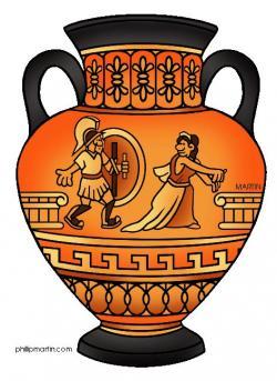 Medusa clipart greek pottery