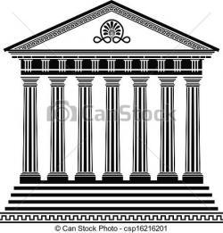 Temple clipart parthenon