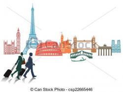 Monument clipart europe travel