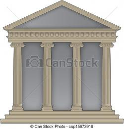 Temple clipart greek temple