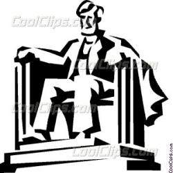 Monument clipart lincoln memorial