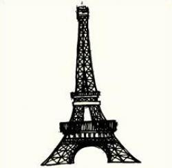 Monument clipart paris tower
