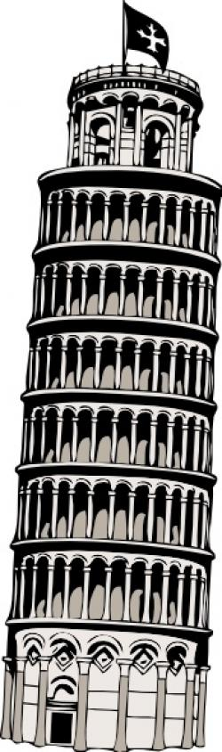 Towers clipart pisa