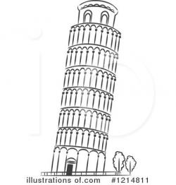 Monument clipart pisa tower