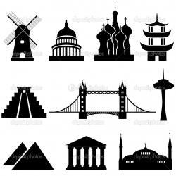 Landmark clipart world landmark