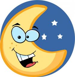 Lunar clipart happy