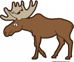 Small clipart moose