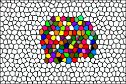 Mosaic clipart colour