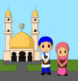 Mosque clipart animated