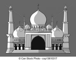 Mosque clipart arch