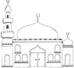 Dome clipart islamic architecture