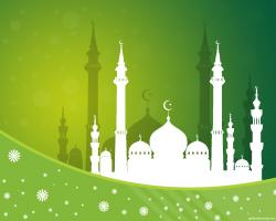 Mosque clipart background