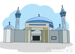 Mosque clipart building