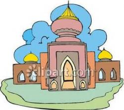 Mosque clipart cartoon