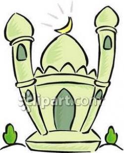 Mosque clipart cute