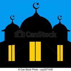 Mosque clipart graphic