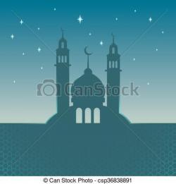 Mosque clipart ornament