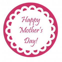 Mother's Day clipart craft