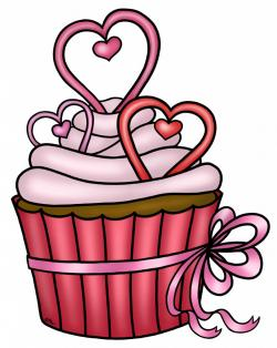 Sweets clipart valentine cupcake