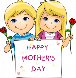 Mother's Day clipart mom kid