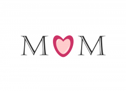 Mommy clipart mom word