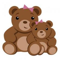 Mother's Day clipart mother bear