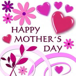 Mother's Day clipart mother daughter love