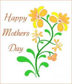 Mother's Day clipart nanay