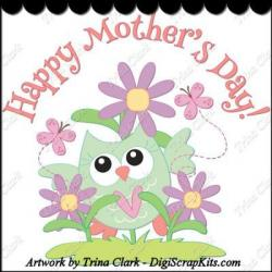 Mother's Day clipart owl
