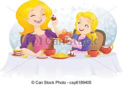 Mother's Day clipart party