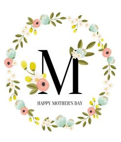 Mother's Day clipart single parent family