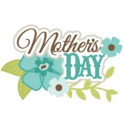 Mother's Day clipart title