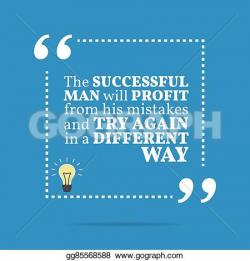 Motivational clipart successful man