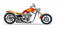 Harley Davidson clipart simple