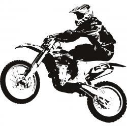 Stunt clipart dirt bike