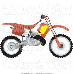 Motorcycle clipart dirt bike