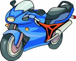 Motorcycle clipart land transportation