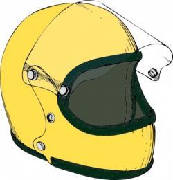 Helmet clipart motocross helmet