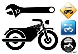 Motorcycle clipart motorcycle repair