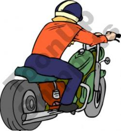 Motorcycle clipart motorcycle rider
