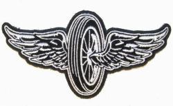 Wings clipart biker