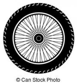 Motorcycle clipart motorcycle wheel