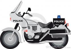 Motorcycle clipart police motorcycle