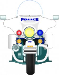 Motorcycle clipart policeman
